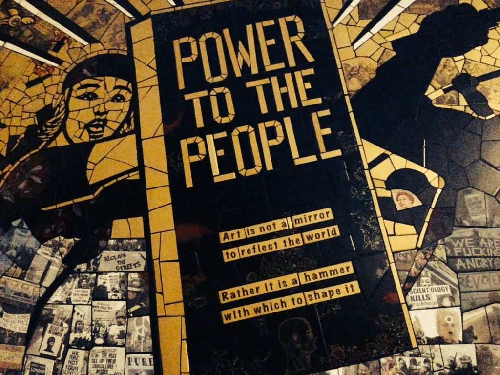 'Power to the People' by Ian Clark, license CC-BY. Available at: https://www.flickr.com/photos/mrshoes/15039746959