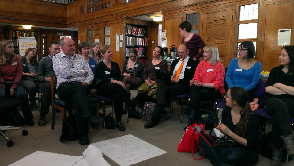 'Librarians and personality' session. Photo © 2013 by Annie Johnson, used with permission.